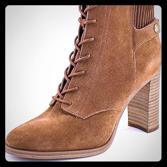 Michael Kors Shoes - NWT Michael Kors Carrigan suede bootie
